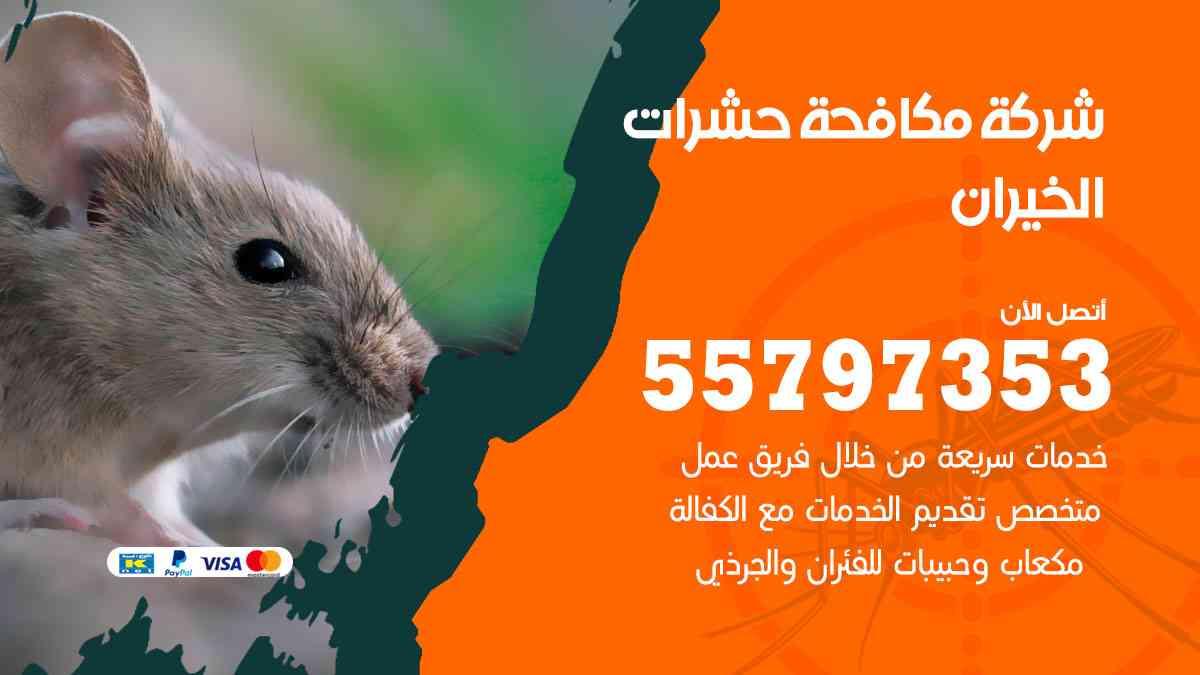 شركة مكافحة حشرات وقوارض الخيران / 50050647 / رش الصراصيروالبق والفئران