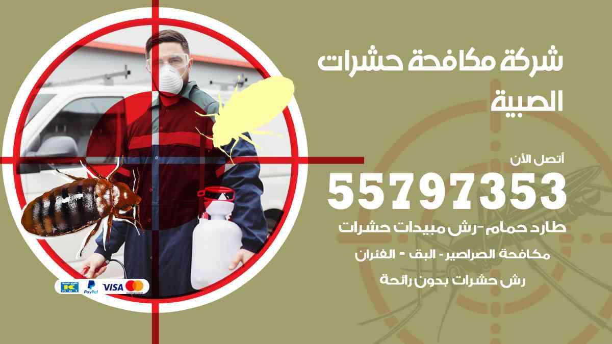 شركة مكافحة حشرات وقوارض الصبية / 50050647 / رش الصراصيروالبق والفئران