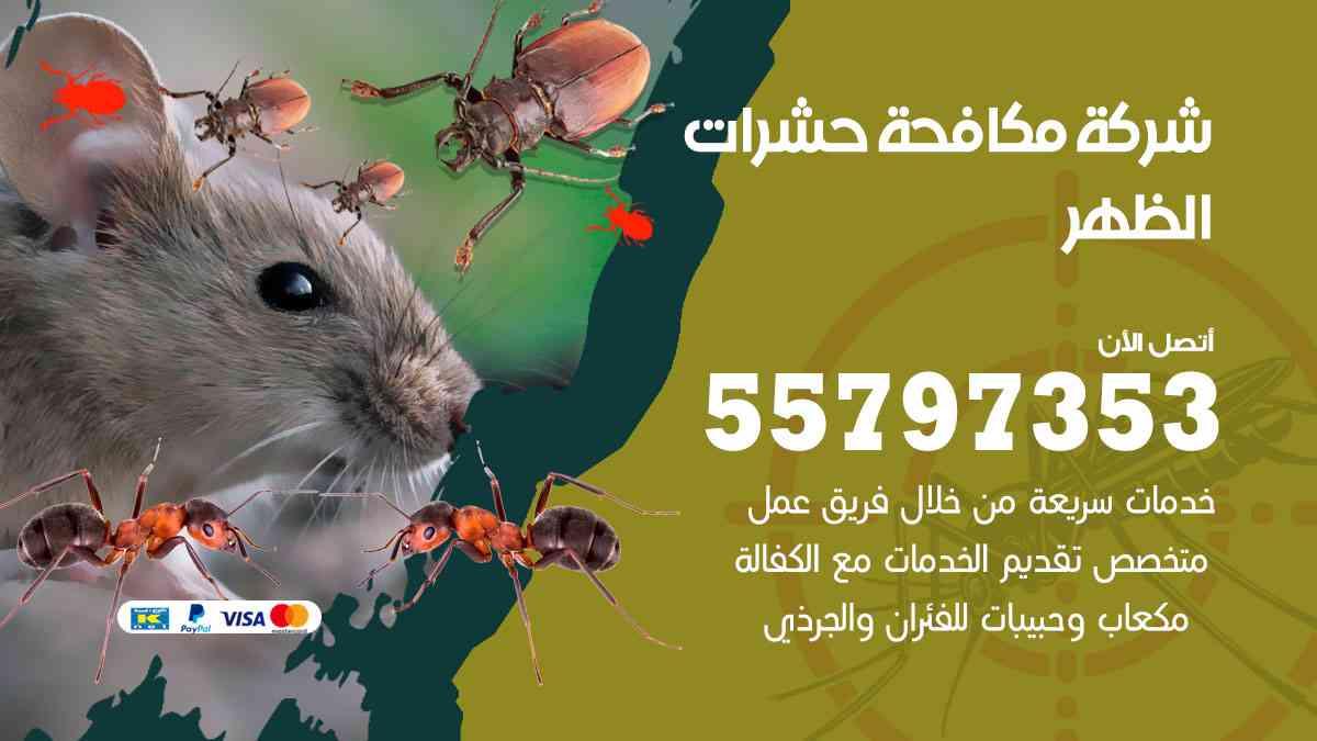 شركة مكافحة حشرات وقوارض الظهر / 50050647 / رش الصراصيروالبق والفئران