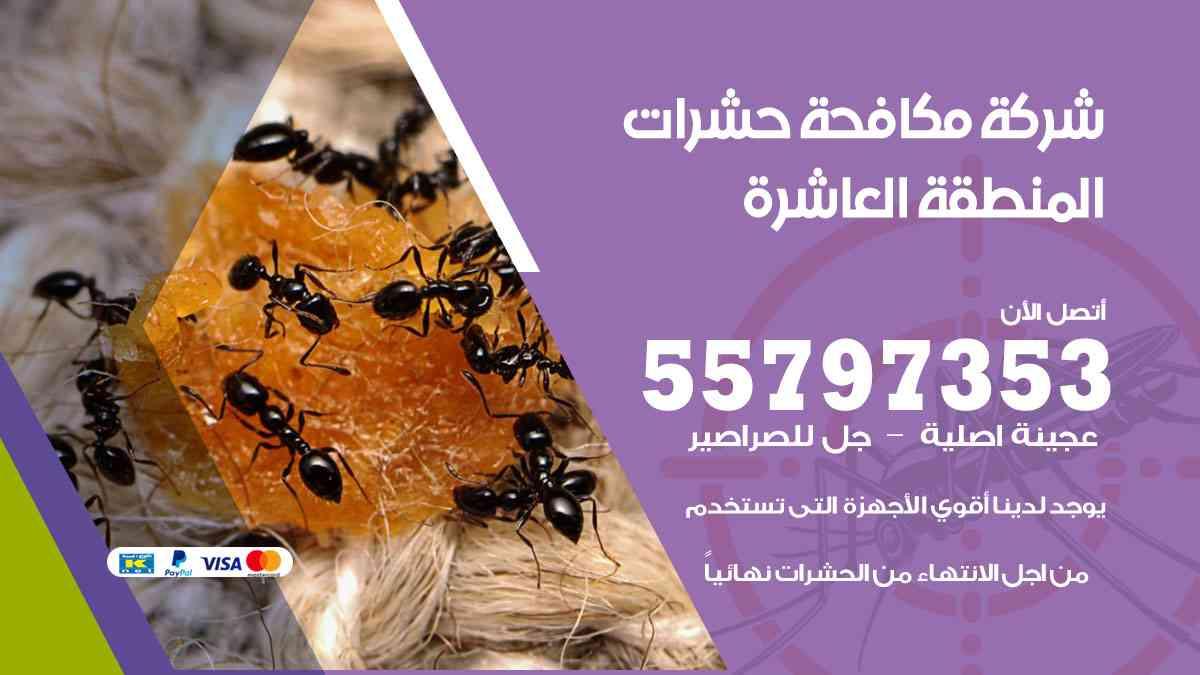 شركة مكافحة حشرات وقوارض المنطقة العاشرة / 50050647 / رش الصراصيروالبق والفئران