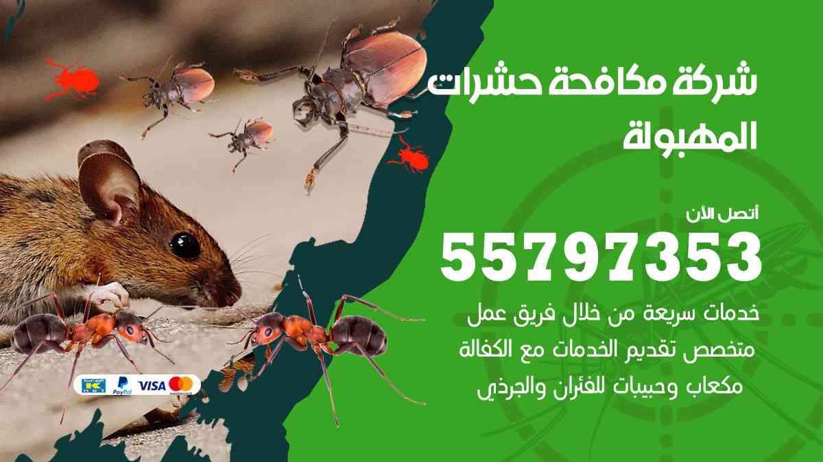 شركة مكافحة حشرات وقوارض المهبولة / 50050647 / رش الصراصيروالبق والفئران