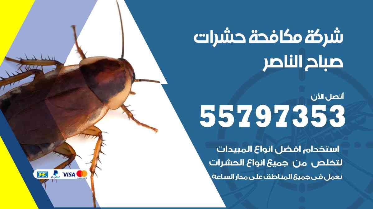 شركة مكافحة حشرات وقوارض صباح الناصر / 50050647 / رش الصراصيروالبق والفئران