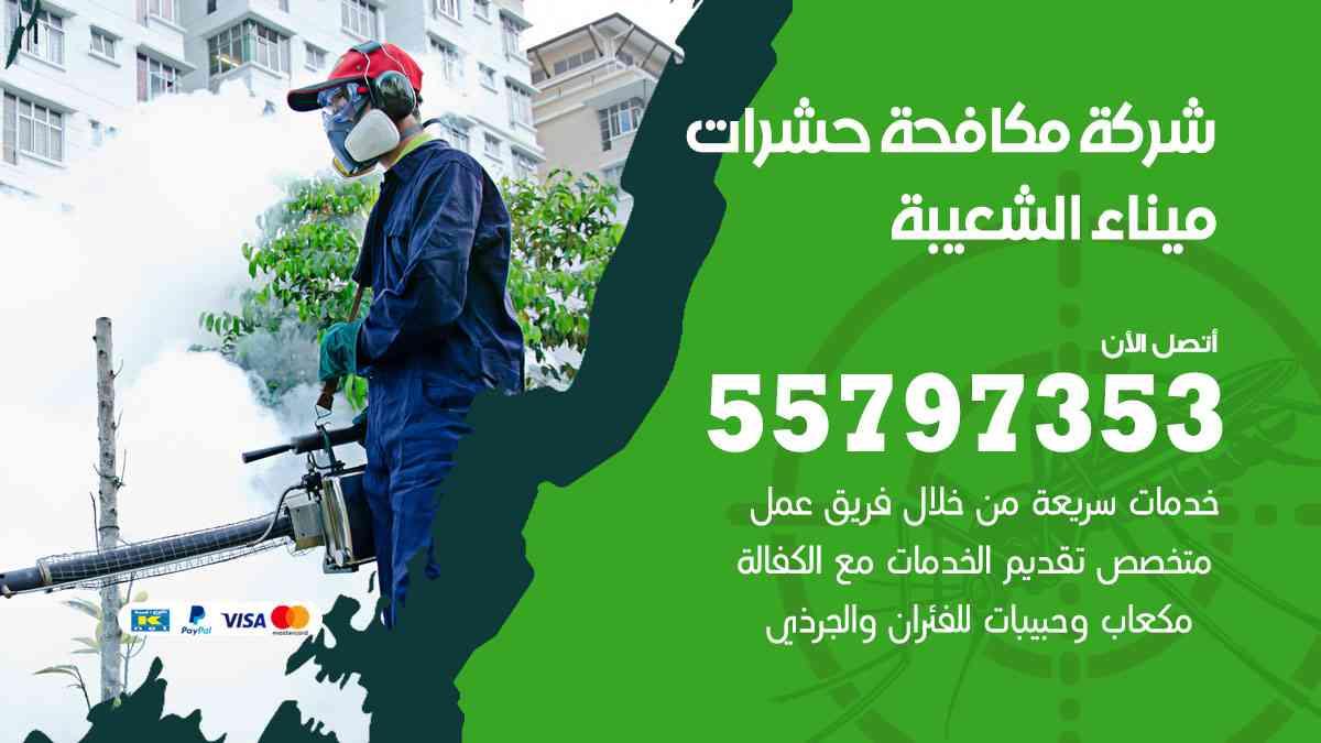 شركة مكافحة حشرات وقوارض ميناء الشعيبة / 50050647 / رش الصراصيروالبق والفئران