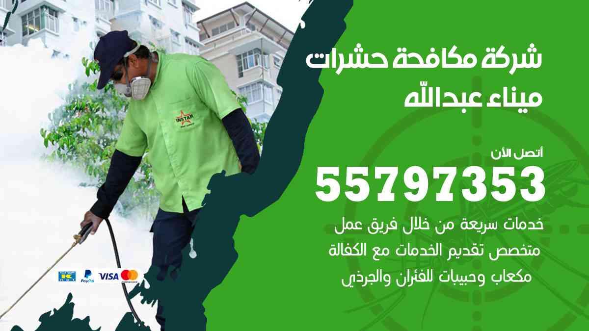 شركة مكافحة حشرات وقوارض ميناء عبدالله / 50050647 / رش الصراصيروالبق والفئران
